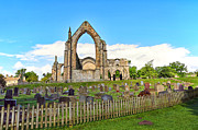 Bolton Abbey Posters - Bolton Abbey in North Yorkshire England  Poster by Malgorzata Larys