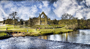 John Adams Prints - Bolton abbey Print by John Adams