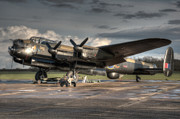 Lancaster Bomber Prints - Bomb Rack Print by Jason Green