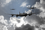 Lancaster Bomber Digital Art - Bomber Command by James Biggadike