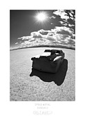 Betty Prints - Bombshell Buick- El Mirage Land Speed Racing Print by Holly Martin