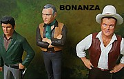 Model Kits Posters - Bonanza Poster by John Malone