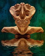 Boneface 7 Print by WB Johnston