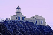 Struckle Framed Prints - Bonita Lighthouse Framed Print by Kathleen Struckle