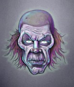 Klown Drawings - Bonk by Lance Shaffer