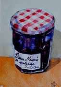 Jam Painting Originals - Bonne Maman by Celia Blanco