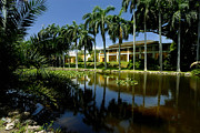 Fort Metal Prints - Bonnet House Fort Lauderdale Florida Metal Print by Amy Cicconi