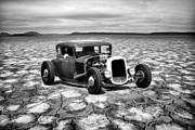 Graffitti Coupe Prints - Bonneville Dreamin Print by Steve McKinzie