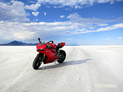 AntiHero Panigale - Bonneville Salt Flats 3