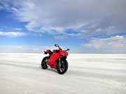 Bonneville Salt Flats Print by AntiHero