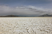 Dry Lake Photos - Bonneville Salt Flats by Johnny Adolphson