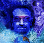 Bono Art - Bono by Keith Double