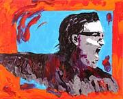 Bono Print by Michael Greeley