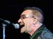 U2 Photos - Bono by Steve Lawrenz