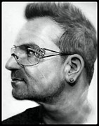 Bono Art - Bono by Terry  McColl