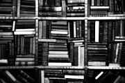 Book Stacks Prints - Books Print by Takeshi Okada