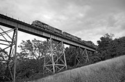 Train On Bridge Prints - Boones Creek Viaduct Print by Eric Jon Job