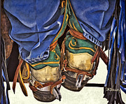 Chaps Paintings - Boot Scoot by JK Dooley