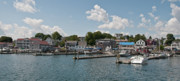 Guy Whiteley Framed Prints - Boothbay Harbor 1242 Framed Print by Guy Whiteley