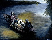 Boating Paintings - Bootleggers Run by William Walts
