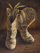 Kim Lockman - Boots and Wheat