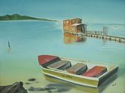 Boqueron Beach Print by Angela Melendez