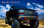 Law Enforcement Prints - Border Patrol Print by Tim McCullough