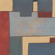 Minimal Paintings - Border Puzzle by John Holdway