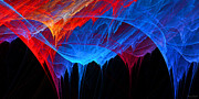 Colorful Art Digital Art - Borealis by Lourry Legarde