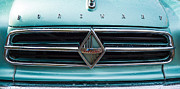 Past Times Framed Prints - Borgward Isabella grill Framed Print by Matthias Hauser