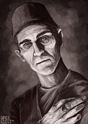 Boris Framed Prints - Boris Karloff Framed Print by Alexa Renee Smothers
