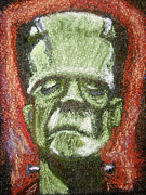 Boris Drawings - Boris Karloff by Seamus Corbett
