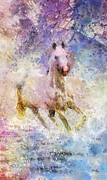 Born To Run Painting Prints - Born to be Wild Print by Mo T