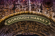 Green Grocer Prints - Borough Archway Print by Heather Applegate