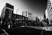 High Street Prints - borough high street morning London England UK Print by Joe Fox