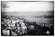 Bosphorus Prints - Bosphorus View Print by John Rizzuto