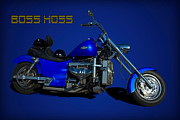 Boss Hoss Chevy V8 Motorcycle Print by Tim McCullough