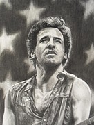 Bruce Drawings Originals - Boss by Jeanne Beutler