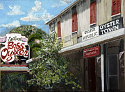 Franklin County Florida Prints - Boss Oyster Print by Susan Richardson
