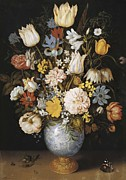 Interior Still Life Photo Metal Prints - Bosschaert, Ambrosius 1573-1621 Metal Print by Everett