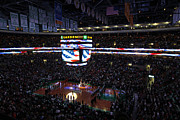 Boston Celtics Under The Star Spangled Banner Print by Juergen Roth
