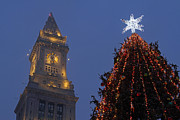 New England Acrylic Prints - Boston Christmas Tree Lighting by Juergen Roth