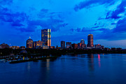 Boston Framed Prints - Boston Evening Framed Print by Rick Berk