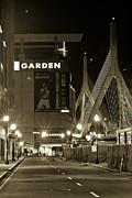 Boston Garder And Side Street Print by John McGraw