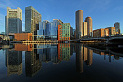 New England Acrylic Prints - Boston Intercontinental Hotel by Juergen Roth