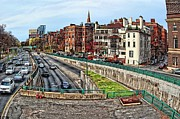 Boston Digital Art Metal Prints - Boston Metal Print by John Capitao