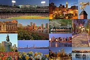 Boston Sox Prints - Boston Landmarks Photography  Print by Juergen Roth