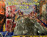 Mark Moore - Boston Marathon 2014
