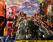 Most Viewed Originals - Boston Marathon  by Mark Moore