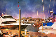 Colors Photos - Boston Marina by Betsy A Cutler East Coast Barrier Islands